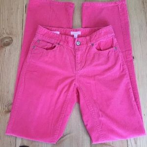 Lilly Pulitzer Pink Cords